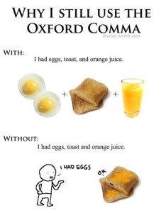 Why I Still Use the Oxford Comma, imgur.com