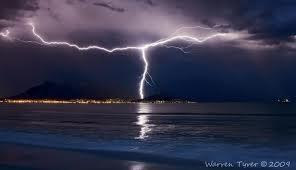Lightning over Cape Town by Waz7710, waz7710.deviantart.com