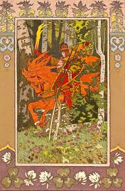 Illustration of the Russian fairy tale about Vasilisa the Beautiful, wikipedia