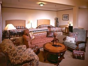 room in The Plains Hotel in Cheyenne, Wyoming, www.hauntedrooms.com