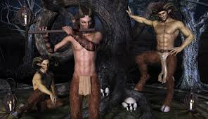 fauns in the wood, jujusternchen.deviantart,com