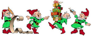 Christmas elves, emeraldninja.com