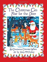 The Christmas Cats Fear for the Deer