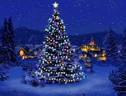 beautiful blue Christmas tree, imgbuddy.com