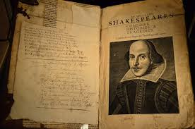 pages of William Shakespeare's first folio at the Bodlean Library, Oxford, flickr