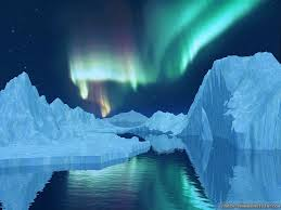 Aurora Lights North Pole wallpaper, crazy-frankenstein.com