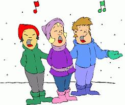 Christmas carolers, clipartsheep.com