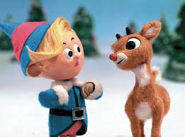 Hermey the elf and Rudolph, wikimedia commons