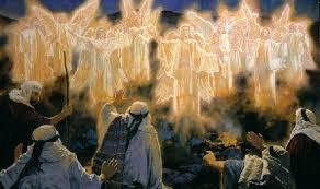 angels announce birth of Christ, godshotspot.wordpress.com
