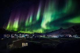northern lights in Greenland, flickr