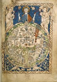 Here be dragons, 1265 Psalter world map, wikipedia