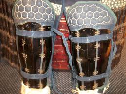 Japanese samurai greaves, wikipedia