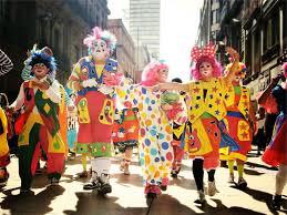 clowns parade, pixabay