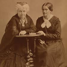 Elizabeth Cady Stanton and Susan B. Anthony, wikimedia commons